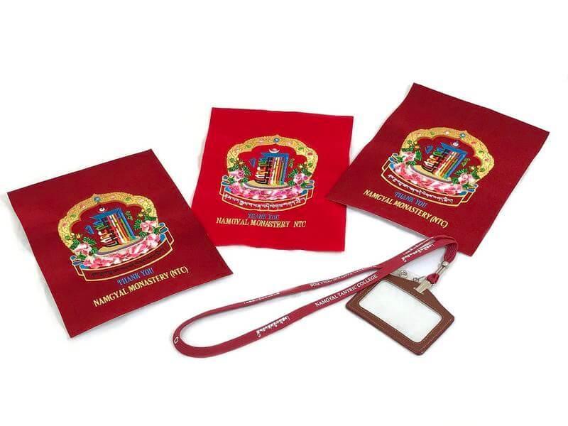 Pamiątki z klasztoru Namgyal -