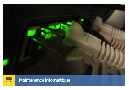Maintenance de parcs informatiques -