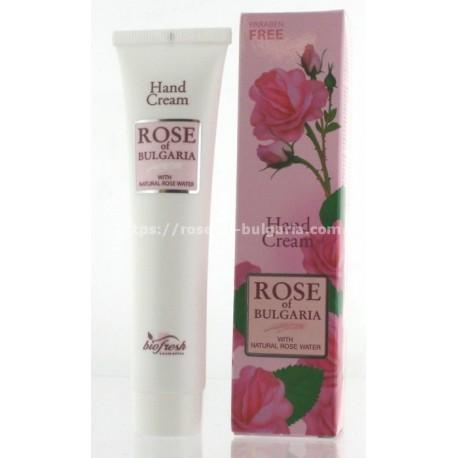 Crème mains à l'eau de rose - Soin corps pour Femme