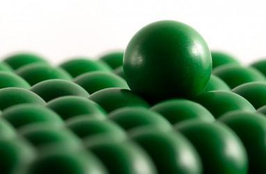 Plastic balls -