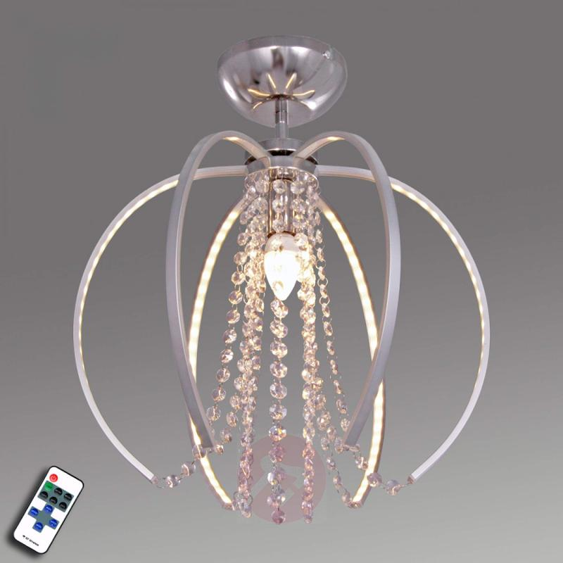 Elegant Lupo ceiling light with Asfour crystals - indoor-lighting