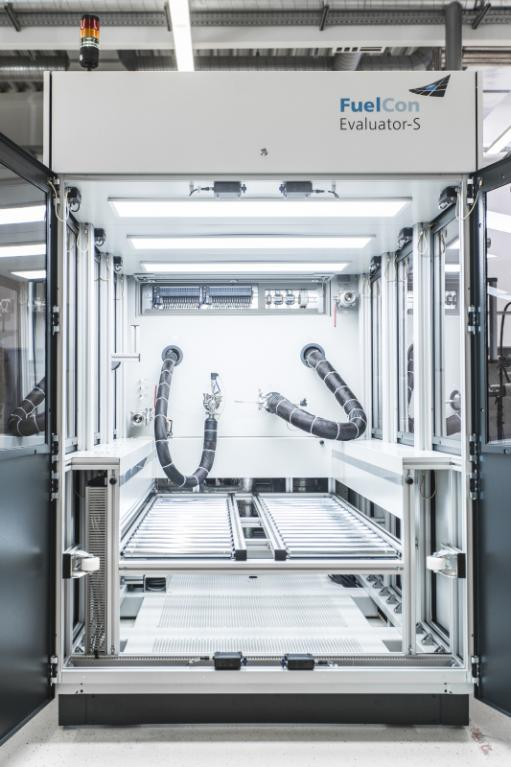 End-of-Line Prüfsystem für Brennstoffzellen und Zellstapel - Prüfsystem zum Testen von Brennstoffzellen und Zellstapeln bis 250+ kW
