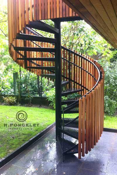 Escalier Hélicoïdal - Ferronnerie