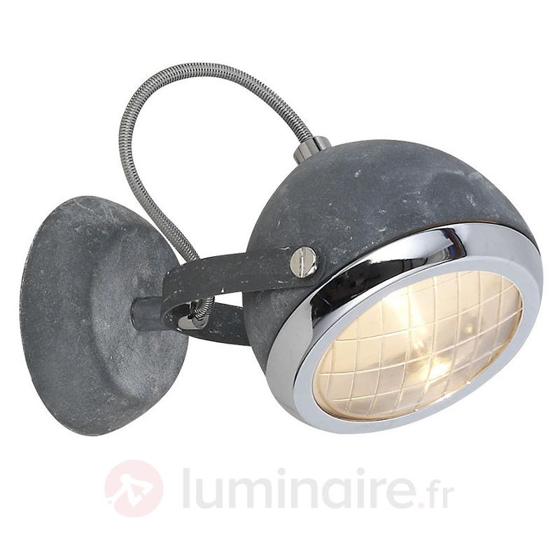 Élégante applique Rider - Spots et projecteurs halogènes