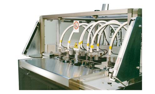 Unità base autoalimentata a 8 teste - Automazioni e macchine speciali