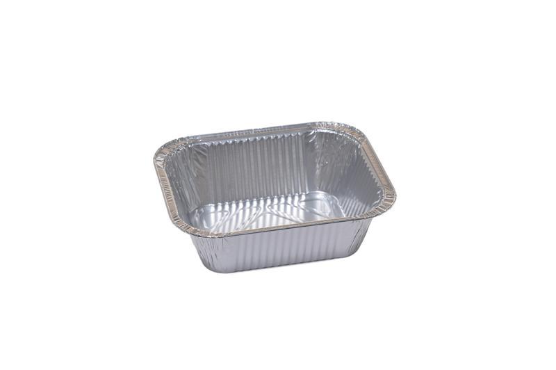 Vaschetta Alluminio Rettangolare 1 Porzione R30G 100 pz - Non Food - Prodotti monouso e altri prodotti