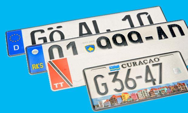 Aluminum License Plates - Signage