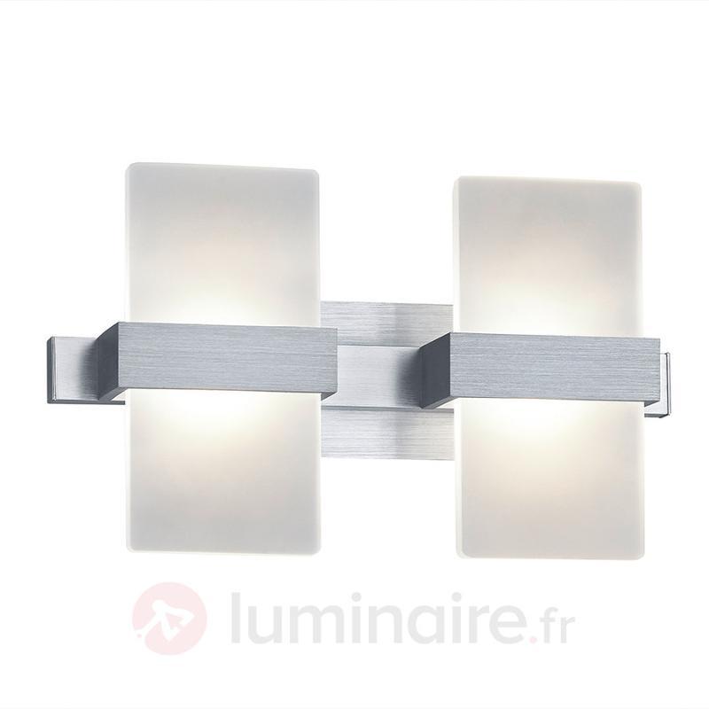 Applique murale LED Platon moderne à 2 vantaux - Appliques LED