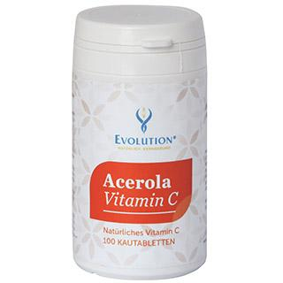 Acerola Vitamin C 100 chewable capsules
