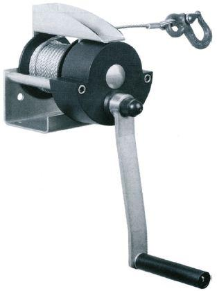 Treuils manuels - Treuil manuel à câble 300kg et 500kg zingué ou inox
