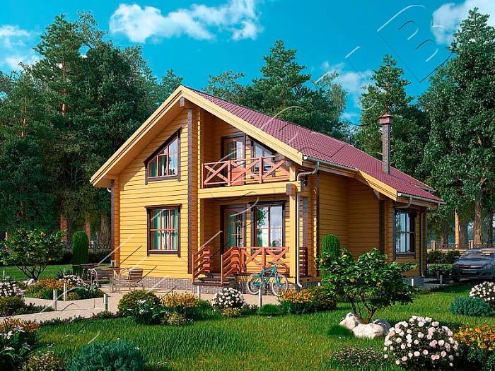Holzhaus-Silber - Eine im Werk exakt zugesägte, verzapfte und markierte einbaufertige Konstruktion
