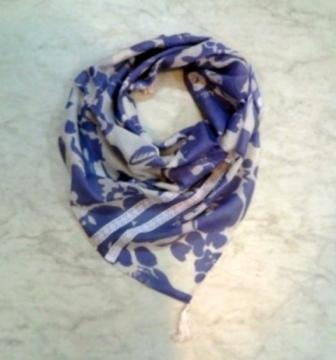 Wool cotton printed With tassel Scarves - Wool cotton printed With tassel Scarves