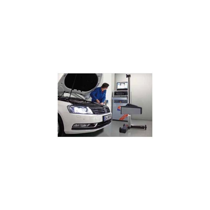 Lichtregelaar MAHA MLT3000 - Diagnose en emissie