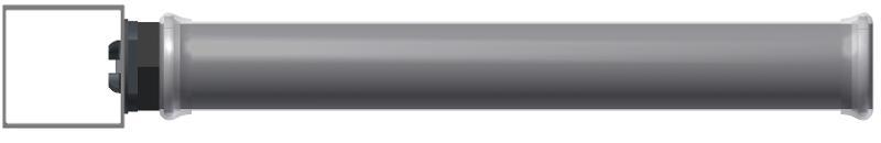 Membran-Rohrbelüfter 750 mm Silikon -