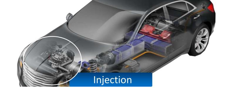 Décolletage de pièce d'injection - Fonction