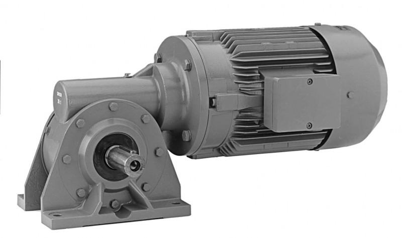 SN10SH - Single-stage gear drive with solid shaft