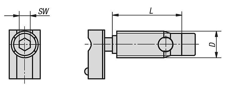 Fixation automatique type I - Raccords