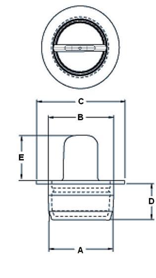 N132C - Bouchons à languette centrale HT - Haute Température