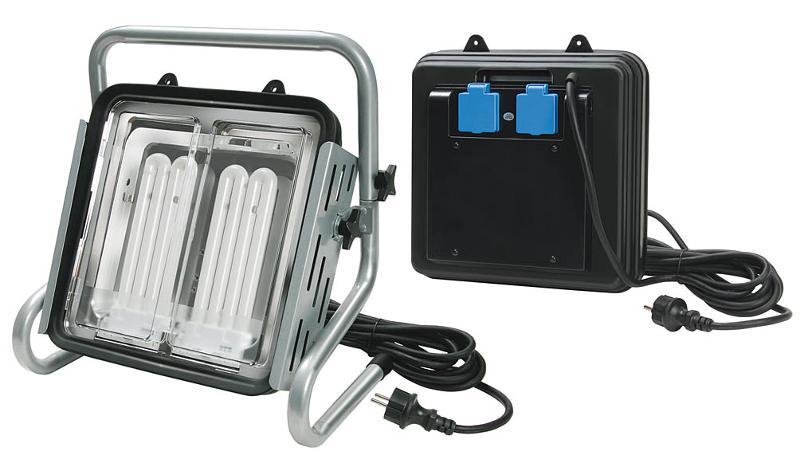 Power-Jet-Light 2 x 36 Watt IP54 spotlight 5m - null
