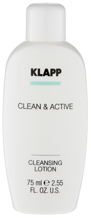 CLEANSING LOTION - CLEAN & ACTIVE 75 ml