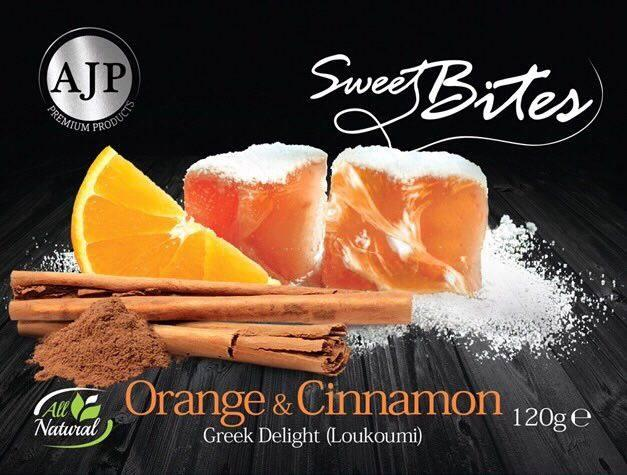 SweetBites Orange & Cinnamon