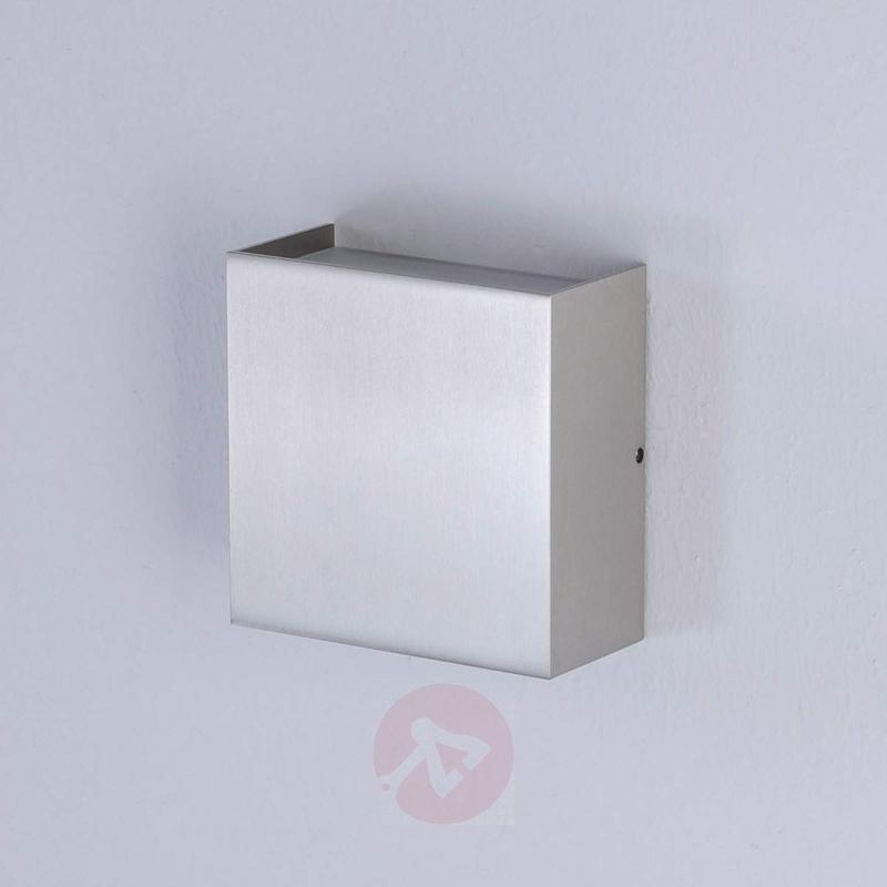 matt nickel finish - Mira LED wall lamp - Wall Lights