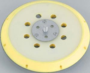 Schleifteller zum Schleifen von Flächen und Radien - Stützteller aus Fiberglas, Medium-hart, Höhe 12 mm
