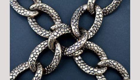 chiusura a catena in metallo - null