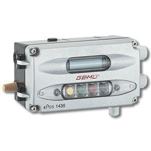 Intelligent electro-pneumatic positioner GEMÜ 1435 ePos - The digital electro-pneumatic positioner is used to control process valves