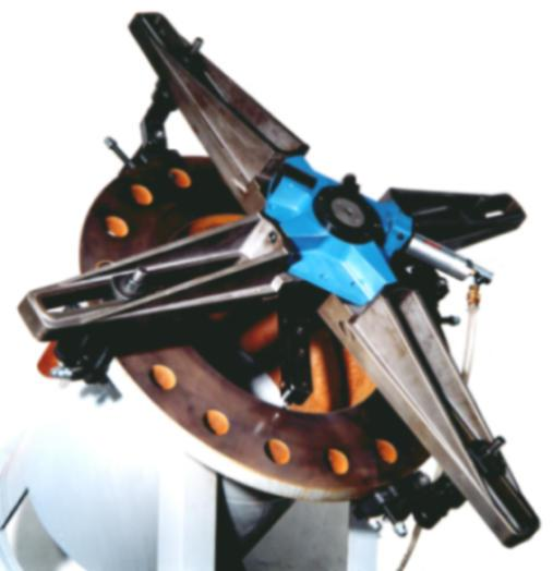 Transportable Flanschendrehmaschine TDF-2
