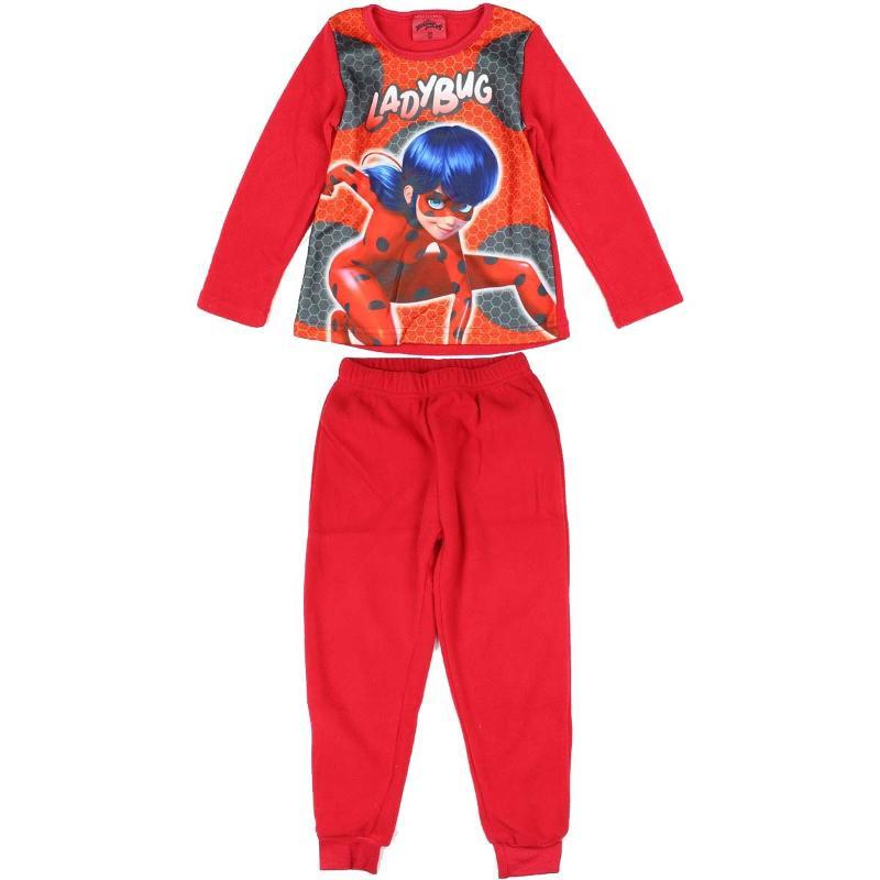 Vente en gros de Pyjama polaire LadyBug du 4 au 10 ans - Pyjama