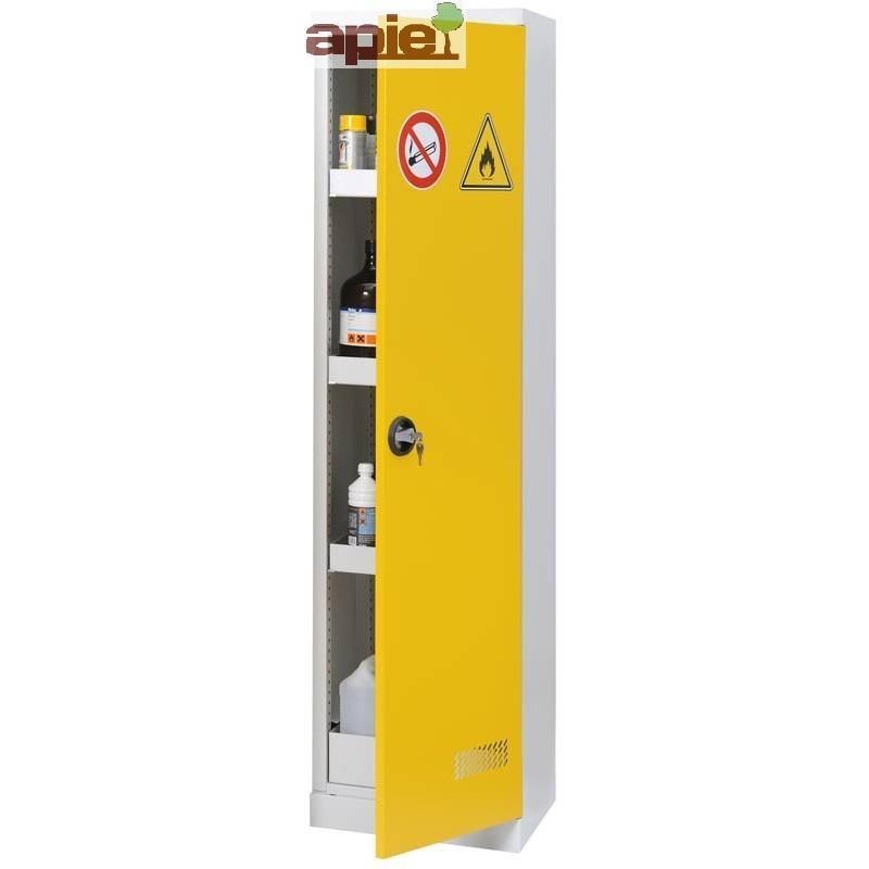 Armoire de sûreté AVEC EXTINCTEUR modèle haut à 1 porte - Référence : ASN THE+EA
