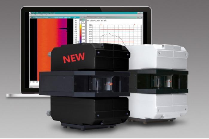 Neue MP Linescanner Serie - Echtzeit-Wärmebilder mit Abtastgeschwindigkeit bis zu 300 Zeilen pro Sek.(300Hz)