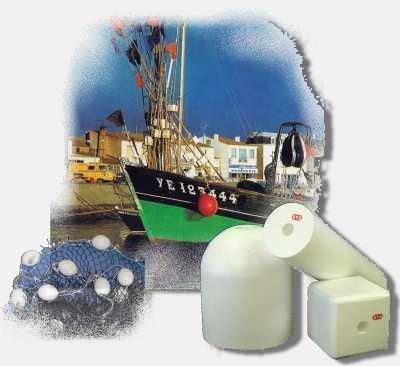 Flotteurs de pêche professionnelle