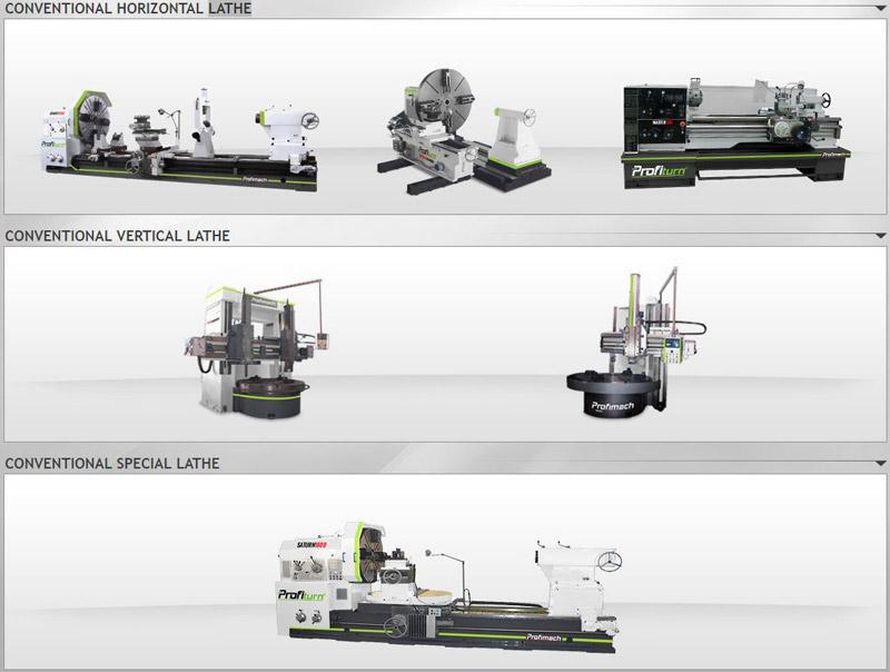 LATHES - CONVENTIONAL HORIZONTAL, VERTICAL, CNC TURNING, THREAD CNC, MULTIFUNCTIONAL,