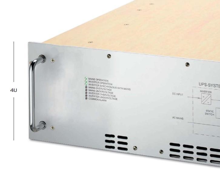 Unterbrechungsfreie Stromversorgung - mit 1-phasigem Ausgang von 1 bis 2.5kVA