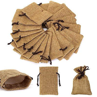 Wholesale Jute Drawstring Bags