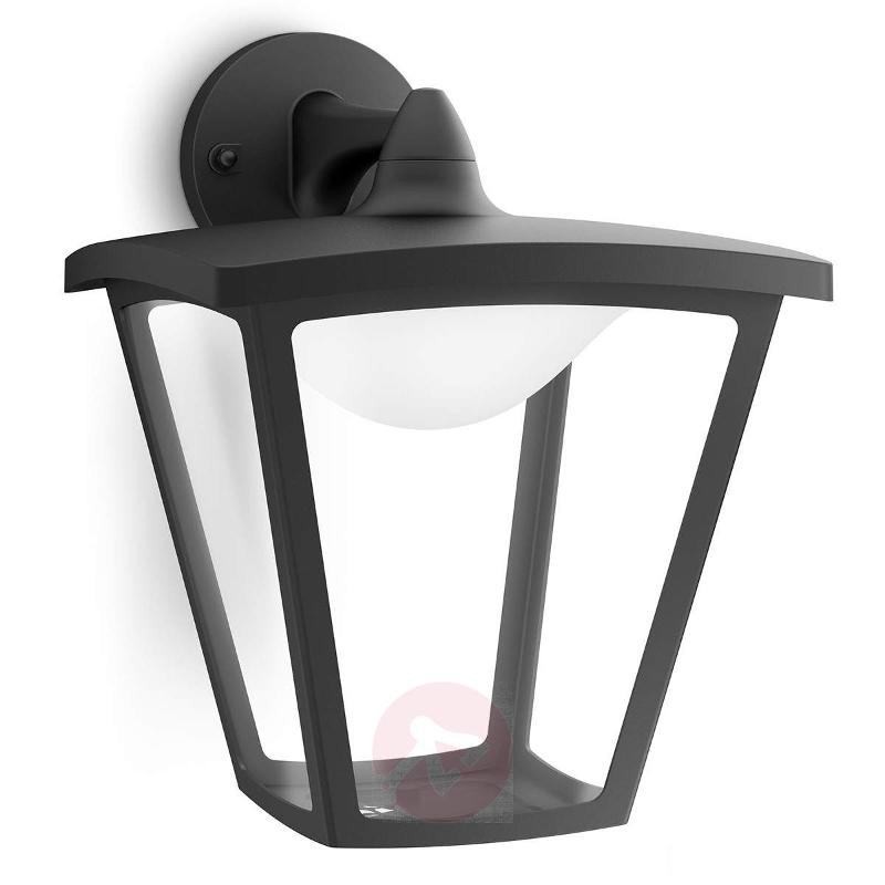 LED outdoor wall light Cottage in black - Outdoor Wall Lights