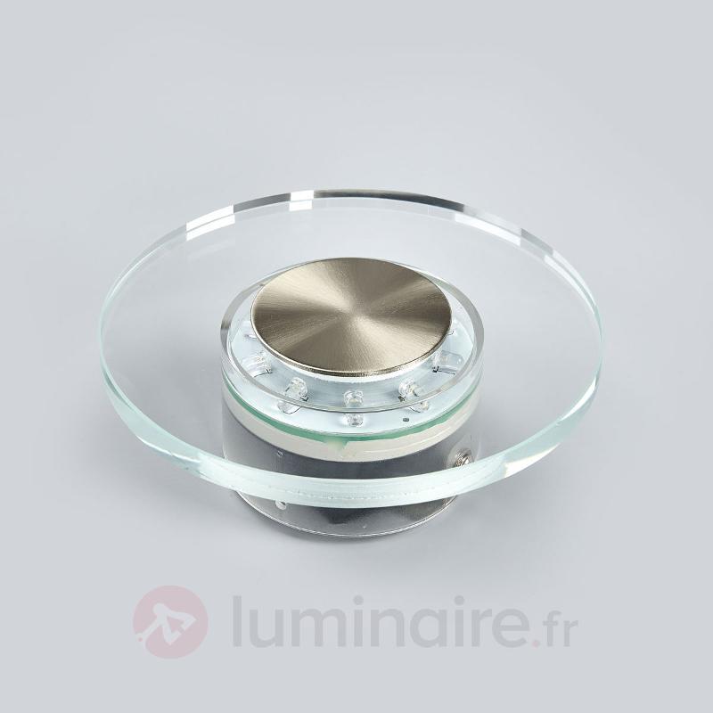 LED Applique d'extérieur DANA ronde - Appliques d'extérieur LED