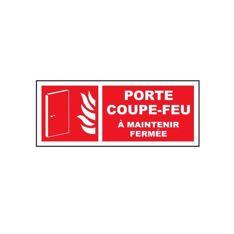 Panneau porte coupe feu 200 x 80 mm - Sécurité incendie