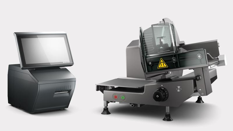 VSC280 Flex - Manual vertical slicer and scale combination