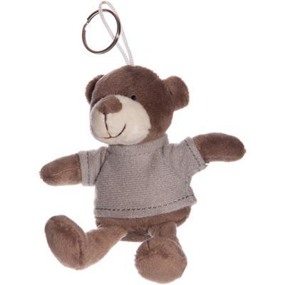 BEAR WITH T-SHIRT KEYCHAIN IN PLUSH - Item No. 1055097