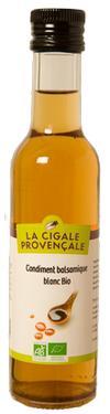Condiment Balsamique BIO Blanc  - 5,4 % d'acidité La Cigale Provençale