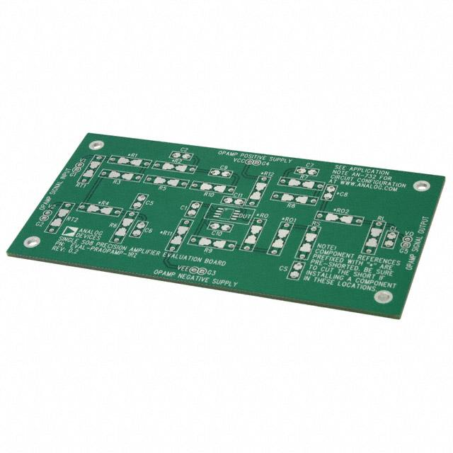 ADAPTER BOARD SINGLE AMP 8SOIC - Analog Devices Inc. EVAL-PRAOPAMP-1RZ