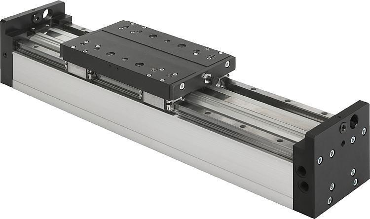 Module portique pneumatique à guidage sur rail - Modules linéaires et portiques pneumatiques