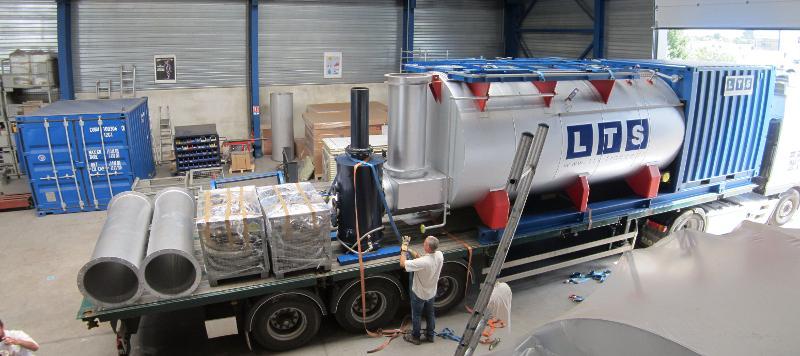 Chaudières mobiles - Chaudières hypermobile vapeur 6t/h