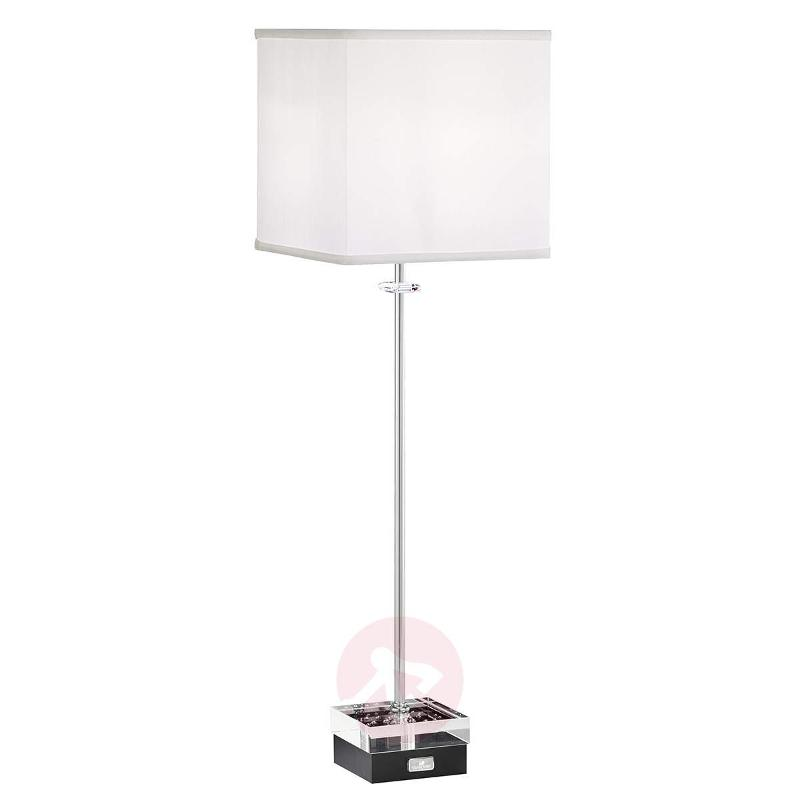 Brillet dimmable table lamp with crystals - Table Lamps