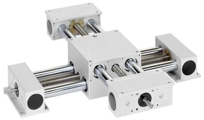 Unidades lineales de husillo COPAS - Eje lineal de doble tubo