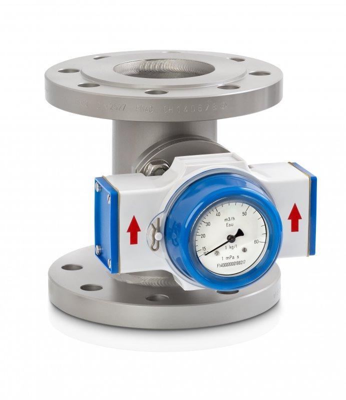 DW 183 - Contrôleur de débit mécanique / pour liquide / max. 300 °C