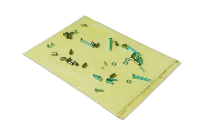 Sacos Excor Zerust  - Saco de plástico VCI | Zip Lock / Resealable | Vários tamanhos